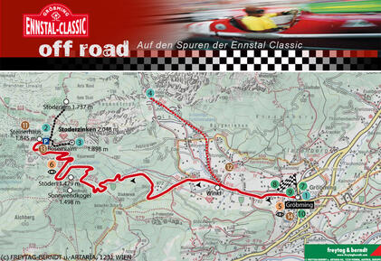 "Roadbook ""On the Trail of the Ennstal Classic"""