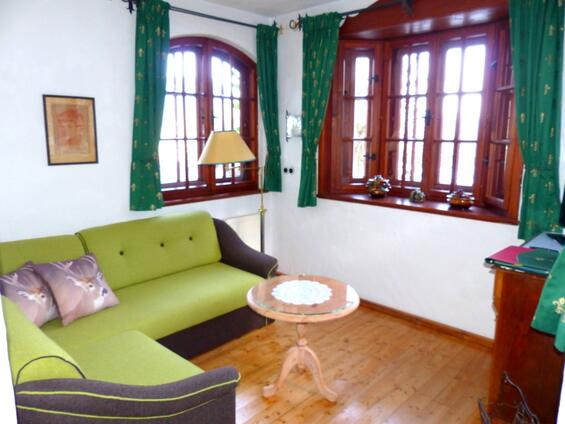 "Living room in the ""Gemach"""