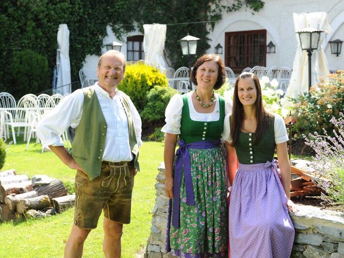 Familie Schrempf vom Schloss Thannegg