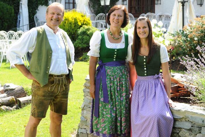 Wohnen im Schloss Thannegg - Familie Schrempf