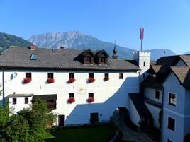 Pfarrhof des Schlosses Thannegg