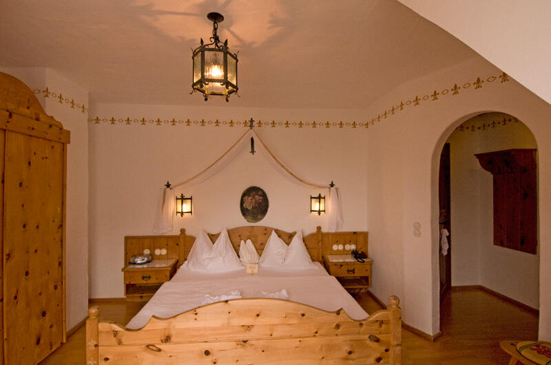 Romantic room at Schloss Thannegg in Ski amadé